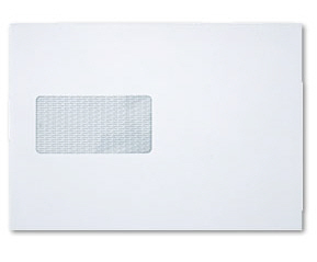 C5 Window Envelopes (White)