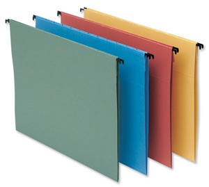 Foolscape Suspension Files with tabs and inserts