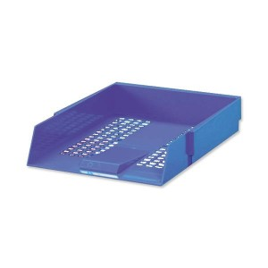paper tray blue